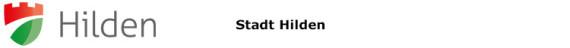 Stadt Hilden